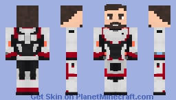 Time travel suit Minecraft Skin