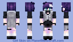 [Kari] Shadow || OC || Happy (late) Children's Day Minecraft Skin