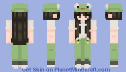 f r o g  l i f e - girl version Minecraft Skin