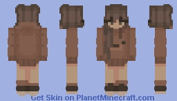Bear Onesie Aesthetic Girl Minecraft Skin