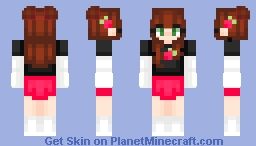 Strawberry Fudge Minecraft Skin