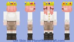 Technoblade +*[ genderbend ]*+ Minecraft Skin