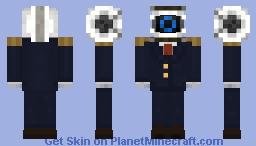 Defective Blue (Presidential Suit) Minecraft Skin