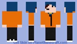 Martin Bv (Blue Hoodie Minecraft Skin