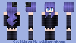 """Stella The Enchantress Witch (From """"Wither Heart"""" Minecraft Animations/Rainimator) Minecraft Skin"""