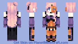 [Kari] Pumpkin Mistress || Costume Party Minecraft Skin