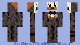 Molten freddy Minecraft Skin