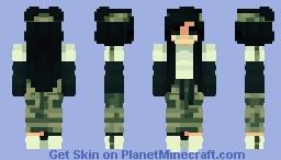Camouflage ~Inspirinq (PR) Minecraft Skin