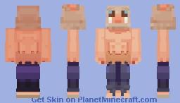 Inosuke (Demon Slayer - Kimetsu no Yaiba) Minecraft Skin