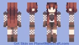 𝒞𝓇𝑒𝓈𝓉𝓌𝒶𝓉𝑒𝓇𝓈 - Memory Lane Minecraft Skin