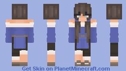 🌊 waterbender oc 🌊 Minecraft Skin