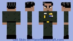 Prayut Chan-o-cha (in Royal Thai Army uniform) *Re-make* Minecraft Skin