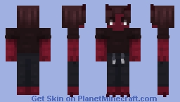 Not too sure what I was going for but um... Minecraft Skin