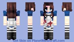 𝔹𝕠𝕠𝕥𝕝𝕖𝕘 𝔸𝕝𝕚𝕔𝕖 - 𝔸𝕝𝕚𝕔𝕖: 𝕥𝕙𝕖 𝕄𝕒𝕕𝕟𝕖𝕤𝕤 ℝ𝕖𝕥𝕦𝕣𝕟𝕤 Minecraft Skin