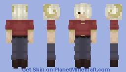Red shirt // Minecraft Skin