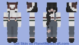 nervous // Christmas Minecraft Skin