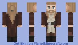 Qui-Gon Jinn - Star Wars Minecraft Skin