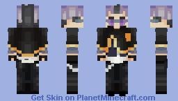 Magna Swing (Black Clover) Minecraft Skin