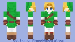 OoT Adult Link | Remastered Minecraft Skin