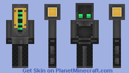 Vector the Table Robot Minecraft Skin