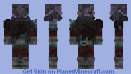 The Prowling Man/Skardi Svartlingrsson's Thief Outfit (DO NOT USE ON LOTC) Minecraft Skin