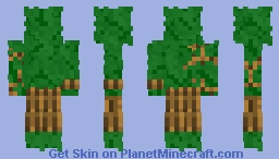 Leaves Minecraft Skin