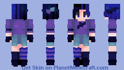 oh raven (sing me a happy song) - series iii/x Minecraft Skin
