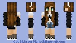 + Friday Night + Minecraft Skin