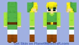 Link | Wind Waker Minecraft Skin