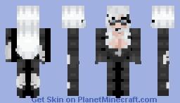 Black Cat Minecraft Skin