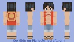 Luffy // One Piece Minecraft Skin