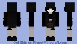 girl in skirt Minecraft Skin