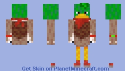 Old Sonic Movie Bean The Dynamite Duck Minecraft Skin