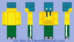 Neptune Myraa Minecraft Skin
