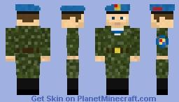 Soviet VDV camo uniform