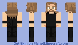 James Hetfield | 1989 | ⚡ Metallica ⚡ Minecraft Skin