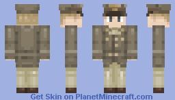 ✪ WW2 U.S Army Officer Uniform✪ Minecraft Skin