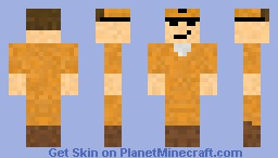 Dale Gribble from King of the Hill Minecraft Skin