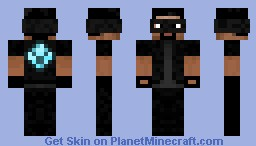 Diamond Thief Steve! (HD) Minecraft Skin