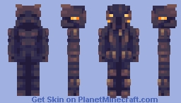 Zypher Solina × Vastful | Ember Minecraft Skin