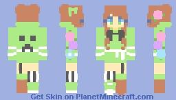 c r e e p e r ♡ rc Minecraft Skin
