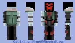Project Jhin Minecraft Skin