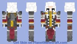 Sister of battle Warhammer 40k Minecraft Skin