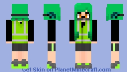 Splatoon Agent 3 Minecraft Skin