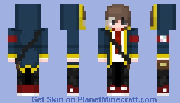 Calvin Winter's (Old name: Ethan Winter's) {RE-BOOT} Minecraft Skin