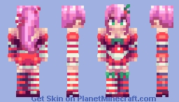 Candy Cane - Skinmas #9 Minecraft Skin