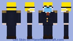 Allen Sculks (Presidential Suit with Mask) Minecraft Skin