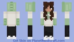 Dino Hoodie Minecraft Skin