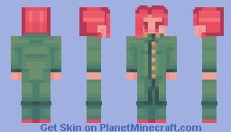 Noriaki Kakyoin - JoJo's Bizarre Adventure (Stardust Crusaders) Minecraft Skin