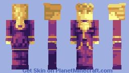 *Piano starts playing* - Huevember #17 Minecraft Skin
